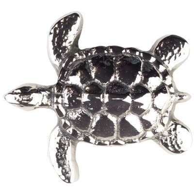 Small Turtle  Grid Bathroom Sink Drain Finish: Polished Nickel, Overflow: Yes
