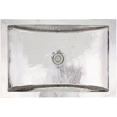 Crescent Self Rimming Bathroom Sink Finish: Polished Stainless Steel