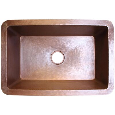 25 x 20 Undermount Kitchen Sink Finish: Dark Bronze