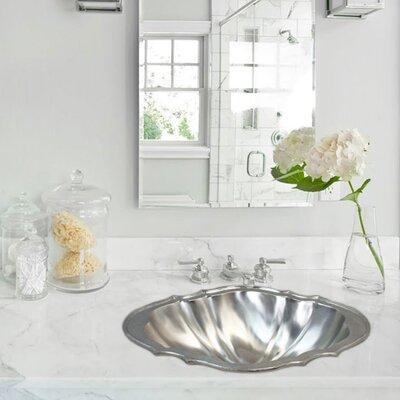 Vintage Jeweler Taxco Self Rimming Bathroom Sink Finish: Satin Nickel