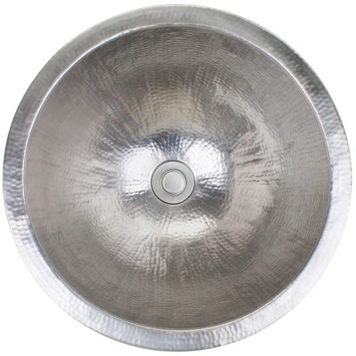 Metal Circular Undermount Bathroom Sink Finish: Satin Stainless Steel
