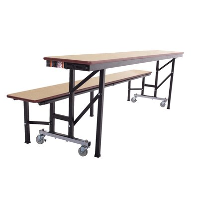 """Rectangular Cafeteria Table Size: 29"""" H x 27"""" W ACB6"""