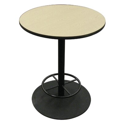 """AmTab Manufacturing Corporation Round Gathering Table - Size: 42"""" Diameter"""