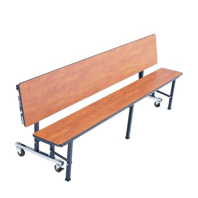 """Rectangular Cafeteria Table Size: 29"""" H x 27"""" W MCB6"""