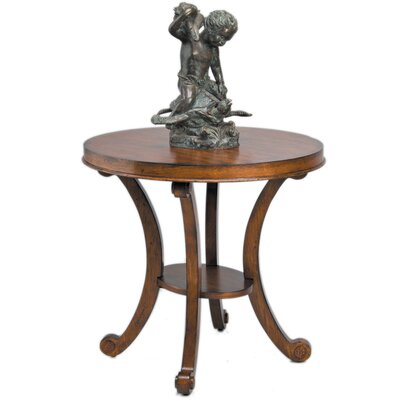 Regency End Table Color: Brown