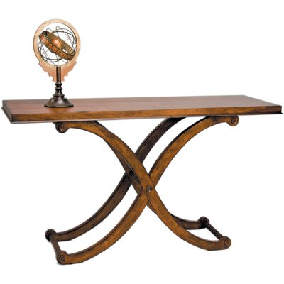 Regency Console Table Finish: Brown