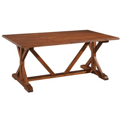 Casual Camden Dining Table Finish: Cognac