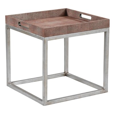 Et Cetera End Table Finish: Coral
