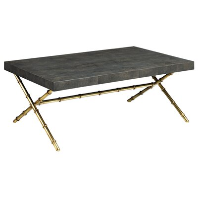 Et Cetera Coffee Table Color: Chocolate / Antique Gold