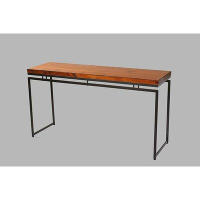 Moon Console Table Finish: Cognac