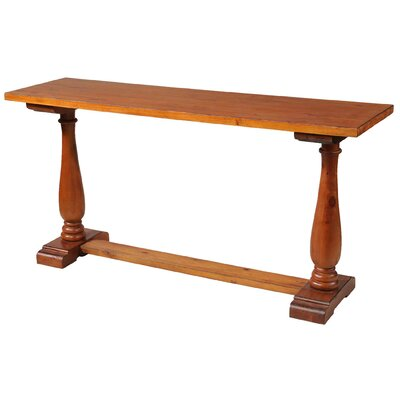 Et Cetera Mystic Console Table Finish: Cognac