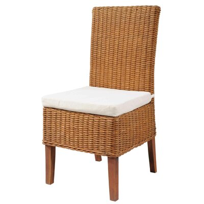 Casual Side Chair Finish: Cognac