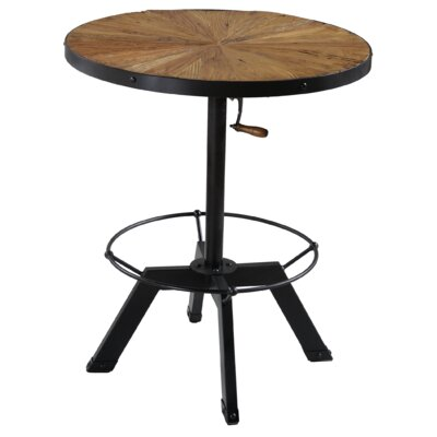 Palisades Adjustable Height Pub Table