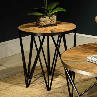 Flatiron End Table