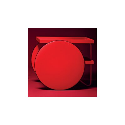 Chariot Table Finish: Red Fluorescent