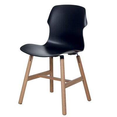 Stereo Side Chair Color: Black