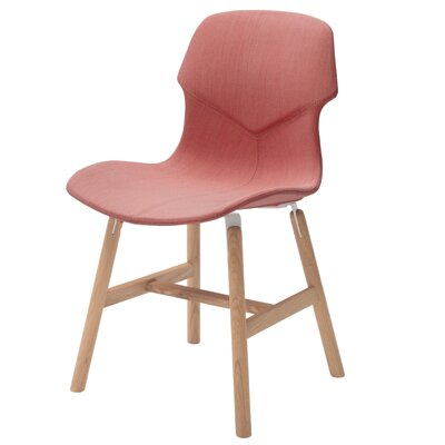Stereo Side Chair Color: Red Brick