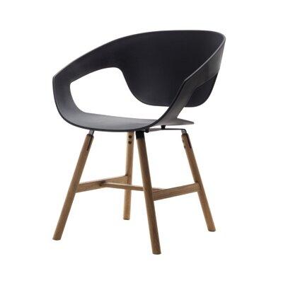 Vad Barrel Chair Color: Black