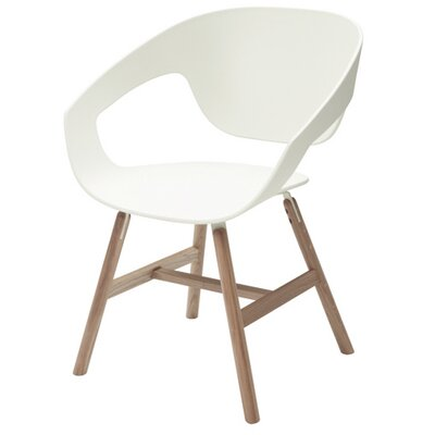 Vad Barrel Chair Color: White