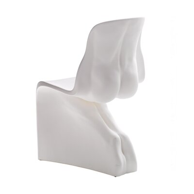 Him Side Chair Color: White