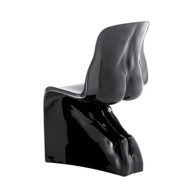 Him Side Chair Color: Glossy Black