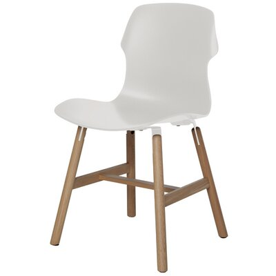 Stereo Side Chair Color: White
