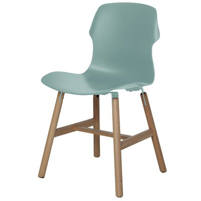 Stereo Side Chair Color: Light Blue
