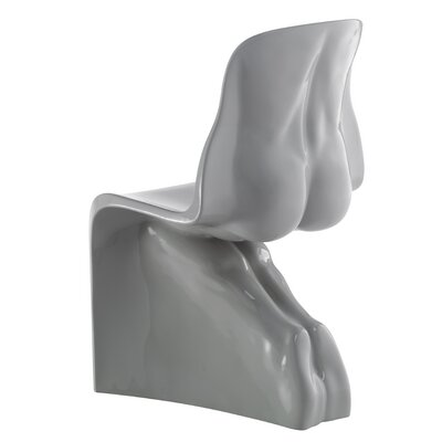 Him Side Chair Color: Glossy Grey