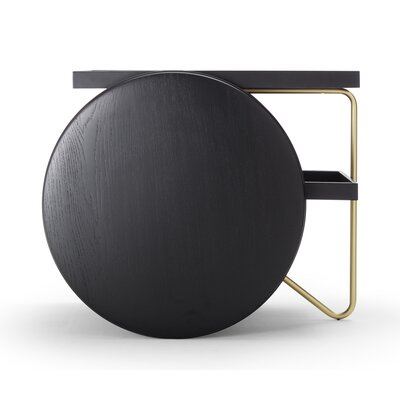 Chariot Table Finish: Black