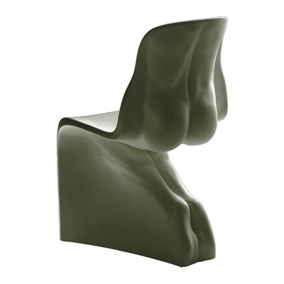 Him Side Chair Color: Military Green