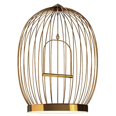Tweet 48-Light Foyer Pendant Finish: Gold Plated