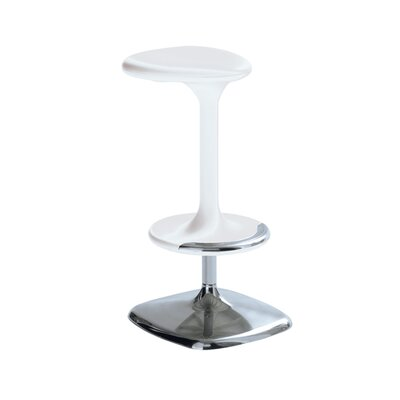 Kant 25.59 Swivel Bar Stool Finish: White