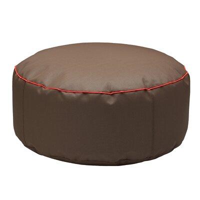 Pouf Pollon Ottoman Upholstery: Brown