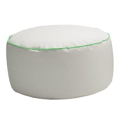Pouf Pollon Ottoman Upholstery: White