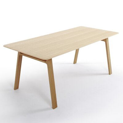 Pontoon Dinning Table Finish: Natural Oak