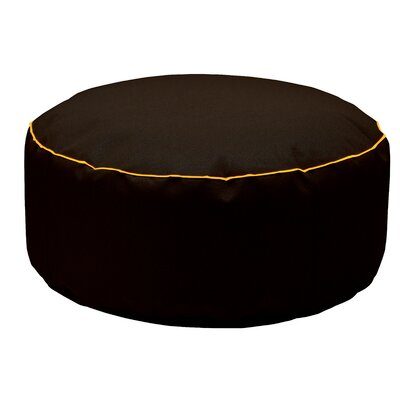 Pouf Pollon Ottoman Upholstery: Black
