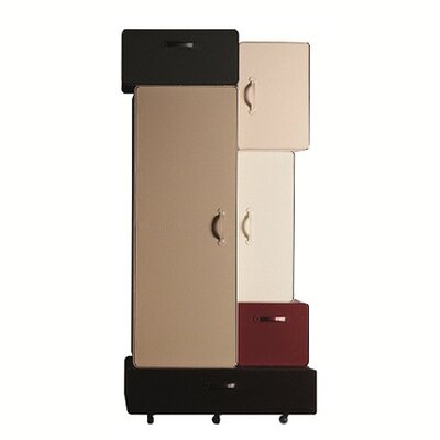 Valises Armoire Finish: Beige