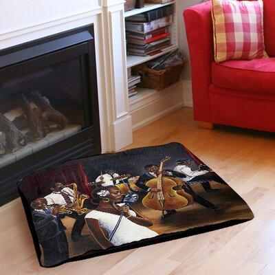 """Jazz Affair Indoor/Outdoor Pet Bed Size: 50"""" L x 40"""" W"""