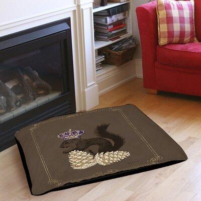 """Luxury Lodge Squirrel Indoor/Outdoor Pet Bed Size: 28"""" L x 18"""" W"""