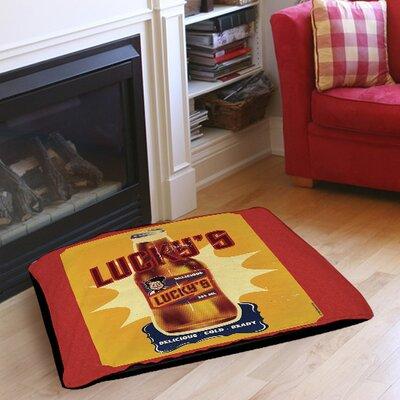 "Lucky's Indoor/Outdoor Pet Bed Size: 50"" L x 40"" W"