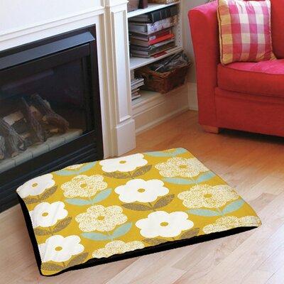 "Jar of Sunshine Vintage Indoor/Outdoor Pet Bed Size: 40"" L X 30"" W"