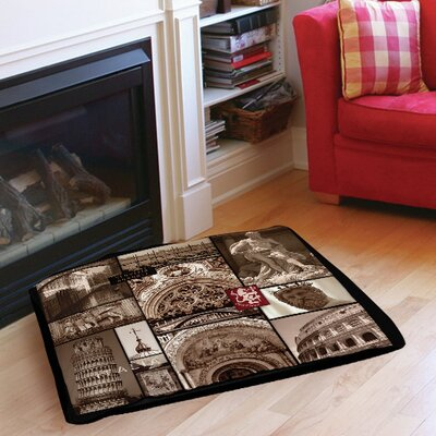 """Italy Indoor/Outdoor Pet Bed Size: 50"""" L x 40"""" W"""