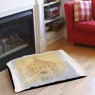 """L'Eglise Indoor/Outdoor Pet Bed Size: 40"""" L X 30"""" W"""