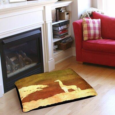 """Safari Sunrise 4 Indoor/Outdoor Pet Bed Size: 40"""" L x 30"""" W"""