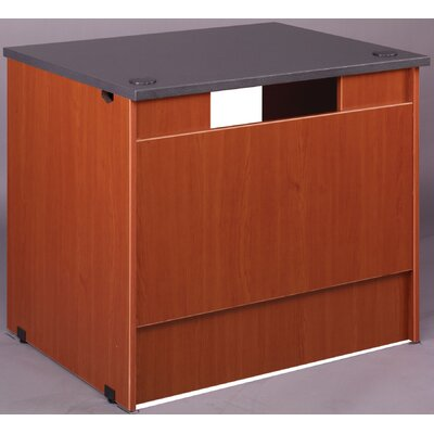 Library 30 H x 36 W Desk Return Finish: Cherry