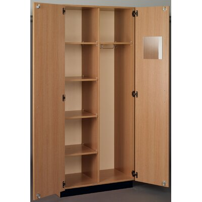 Science Armoire Finish: Medium Oak