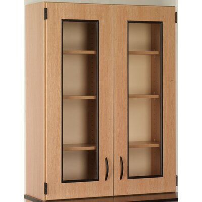 Science 48 H x 36 W Desk Hutch Finish: Medium Oak