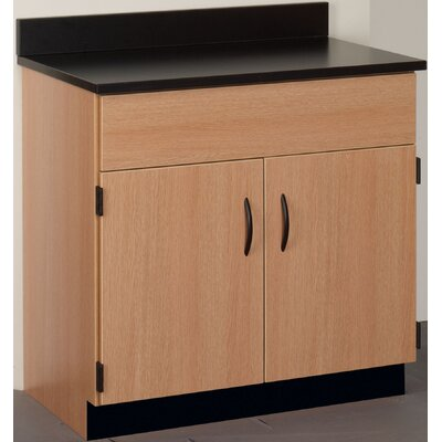 "Science 36"" Storage Cabinet Finish: Walnut"