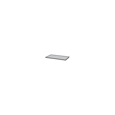 Science 0.75 H x 55 W Desk Privacy Panel Finish: Fashion Grey
