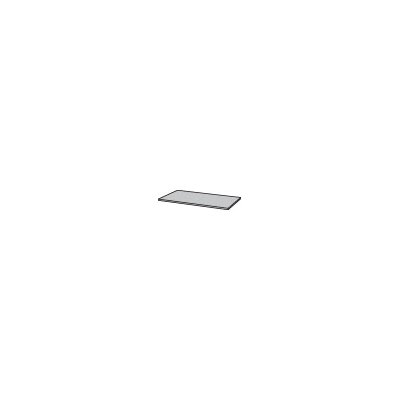 Science 1 H x 55 W Desk Privacy Panel Finish: Western Iron